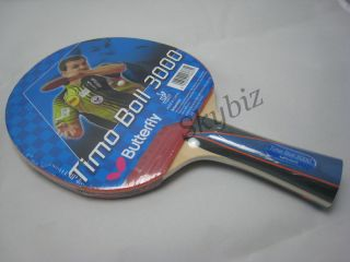 Butterfly Timo Boll 3000 Series Table Tennis Racket Paddle Bat
