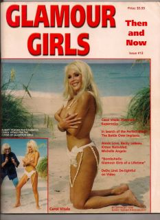 Bunny Yeager Magazine Glamour Girls 13 Carol Vitale Dede Lind Jaynem Cheesecake