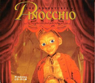 The Adventures of Pinocchio PC Game CD ROM New