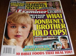 Jonbenet Ramsey Garth Brooks Trisha Yearwood Dexter