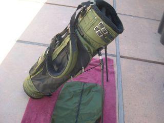 Jones 8 1 2 3 Way Full Length Dividers Vintage 2 Strap Stand Bag Very Nice