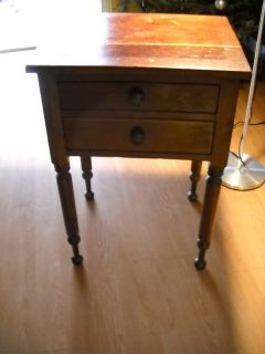 Antique Dressing Table Mormon Joseph Smith Owned Early 1800's Must See