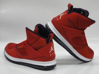 Nike Jordan Flight 45 High Max 'Chris Paul' Gym Red Blue Sneakers Mens Sz 12