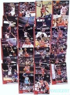 20 1999 Upper Deck Michael Jordan Huge 30 Card Tribute Sets $1 200