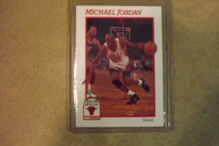 Michael Jordan Hoops Prototype Card