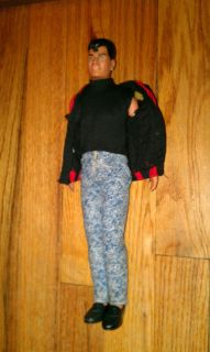 vintage New Kids On The Block Jordan Knight doll action figure 1990 w clothes