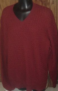 JOSEPH ABBOUD ALPACA v neck Wool blend Sweater size L