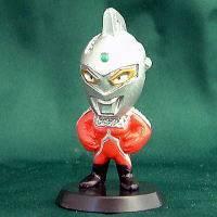Ultraman Mini Big Head Godzilla Ultra Seven Joshi