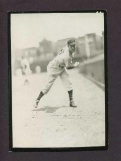 LARRY JANSEN 5x7 Photo 1947 48 Giants GEORGE BURKE