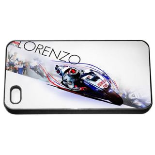 Jorge Lorenzo Spanish Yamaha Team MotoGP World Champion iPhone 4S Seamless Case