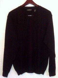Joseph Lyman 100 Merino Wool Mens Sweater Size L