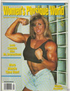 Women's Physique World Female Bodybuilding Magazine Rhonda Jorgenson 10 94