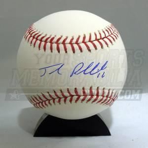 Josh Reddick Oakland As Athletics signed MLB baseball COA