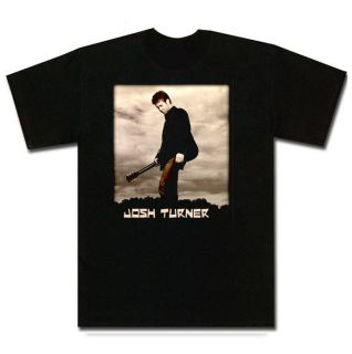 Josh Turner Hot Country Haywire New Sepia Black T Shirt