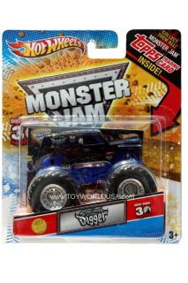 2012 Hot Wheels Monster Jam Monster Truck First Edition Son UVA Digger Topps