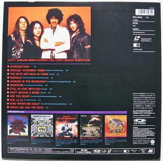 Japan LD Thin Lizzy Live Dangerous 1978 Phil Lynott Brian Downey s Gorham ∫