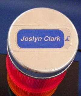 Joslyn Clark Danaher 3 Light Stak Lite Signal Tower Flash Solid Indiv Control