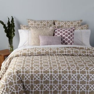 John Robshaw Celi Queen Quilt $412 00 Clay White