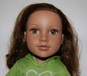 "Journey Girls Kyla 18"" Doll Soft Body Plastic Limbs Hazel Eyes Brown Auburn Hair"