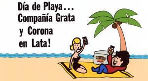 Puerto Rico Cerveza Corona Cantalicio