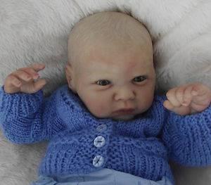 Joshua Adorable Newborn Baby Boy by Dollydaisy |