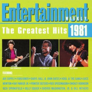 RARE Best of 1981 Pop Greatest Hits CD 80s oldies Eighties Soft Rock Love Songs