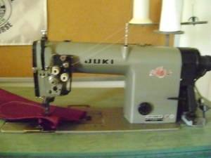 Juki LH 1152 4 Double Needle Indusrial Sewing Machine Auomaic hread rimmer |