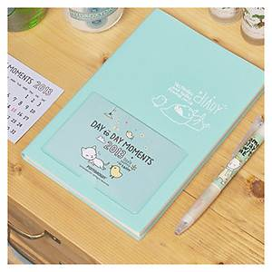 New Pony Brown Diary Journal Planner Organizers Mint Color Calendar Card