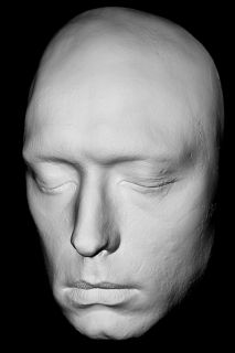 Jude Law Life Mask Rare Face Sherlock Holmes Life Cast in Light Weight Resin