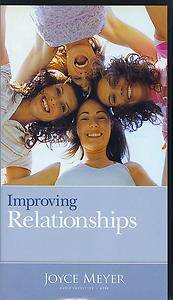 Improving Relationships Joyce Meyer Tapes 4 Last Chance to Own