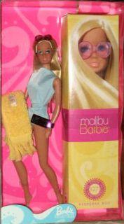 Malibu Barbie Is A 2001 Mattel Repro Authentic Doll Fashion TNT re Issue Set