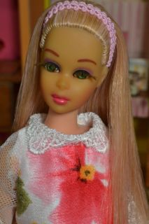 OOAK Vintage 1970 71 TNT No Bangs Francie Barbie Doll by Juliaoriginals