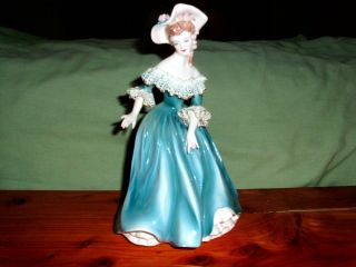 Vintage Florence Ceramics Lady Figurine Musette Beautiful
