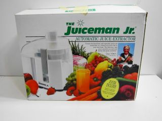 The Juiceman Jr Electric Juicer Machine with Original Box Works