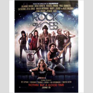 Movie Poster 2012 Musical Tom Cruise Julianne Hough Def Leppard