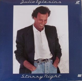Julio Iglesias Starry Night Laserdisc