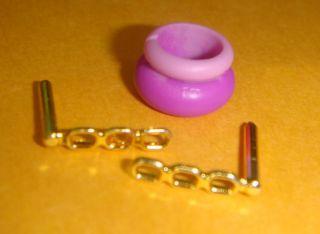 Liv Doll Jewelry Earings Purple Bracelet