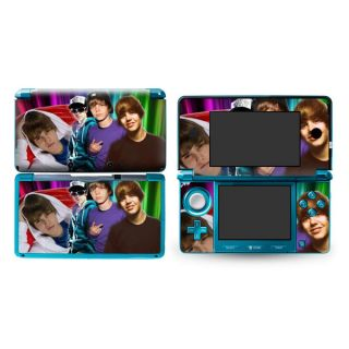 New Justin Bieber Decal Skin Sticker P193 Cover for Nintendo 3DS N3DS