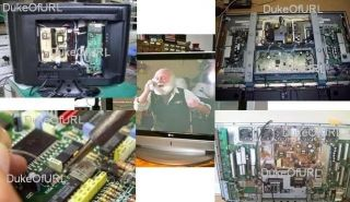 LCD Plasma TV Service Manuals and Technical Diagrams on CD JVC