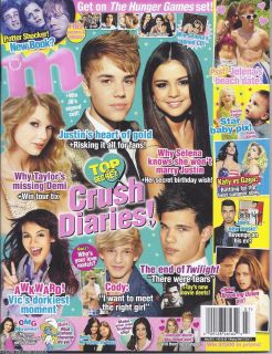 Magazine Justin Bieber Selena Gomez Taylor Swift Taylor Lautner Demi