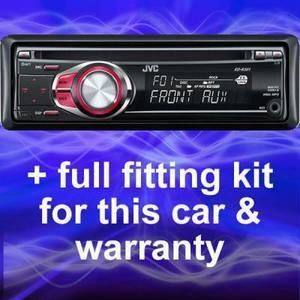 Ford Transit Connect Replacement JVC CD Player Radio
