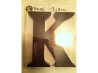 Trend Lab Wooden Letter K Brown Wood 6