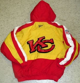 Kansas City Chiefs Vintage 90s Jacket Pullover Sz XL Proline