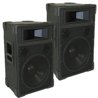 1200 Watts 12 Pro Audio Speakers New Karaoke DJ TRAP12