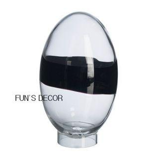 New IKEA Karisma Decoration Egg Blown Glass Art Home