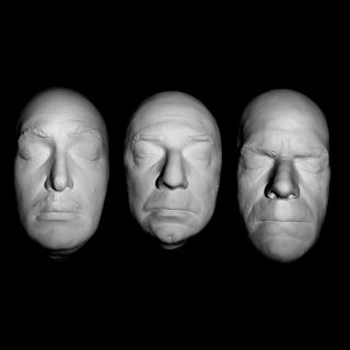 Monsters Resin Life Mask Set VINCENT PRICE, BELA LUGOSI, BORIS KARLOFF