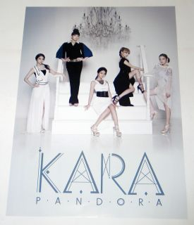 Kara Pandora 5th Mini Album Official Poster with Tube Csse