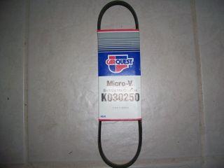 Gates K030250 Serpentine Belt Fan Belt Mazda Toyota