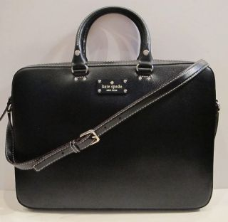 NEW NWT Kate Spade Wellesley Tanner Laptop Bag Purse Tote Case Calista