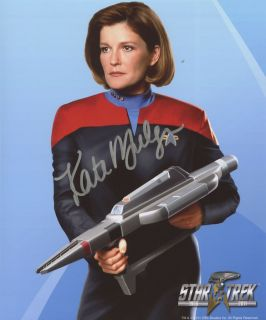 Star Trek Captain Janeway Kate Mulgrew Autograph 4